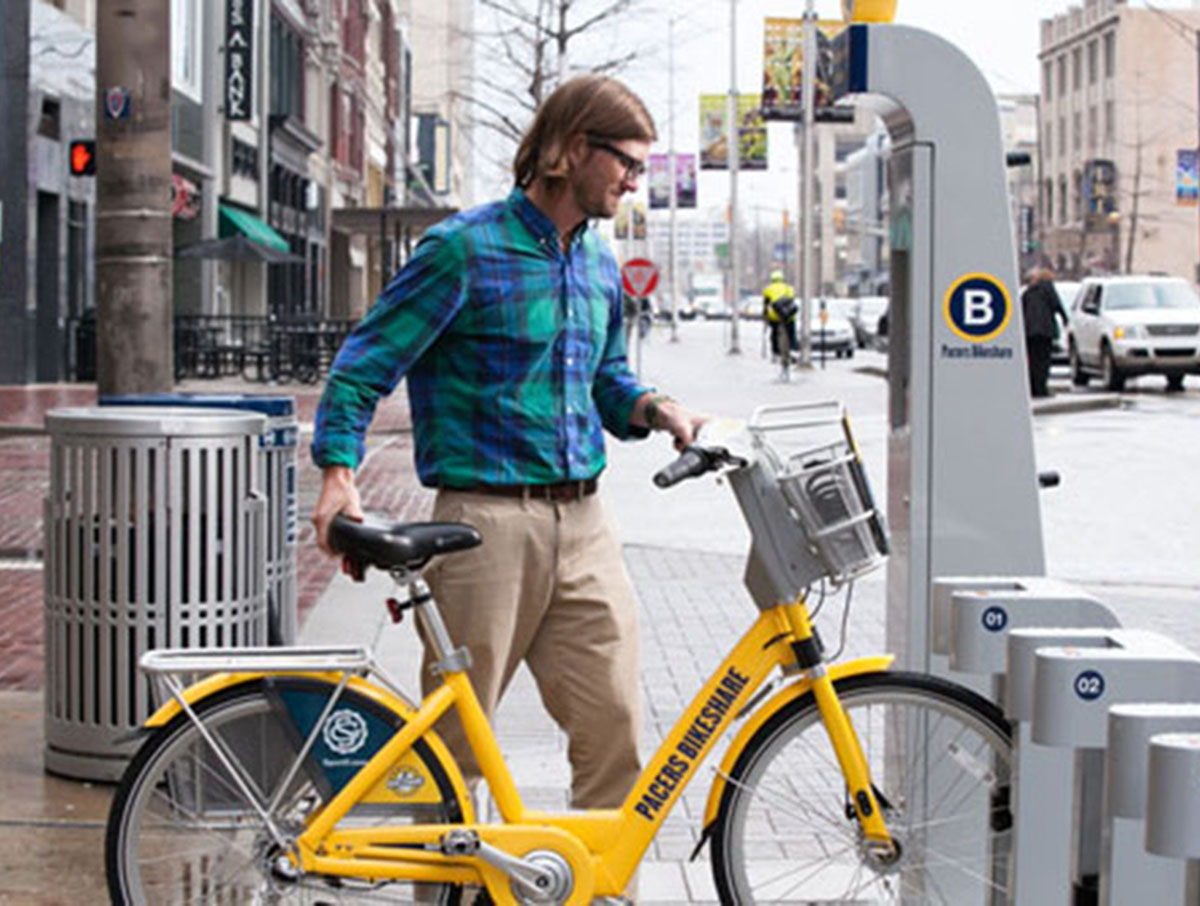 Pacers Bikeshare & Bicycle Parking